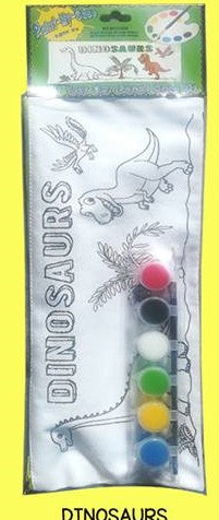 Paint Your Own Pencil Case - Dinosaur