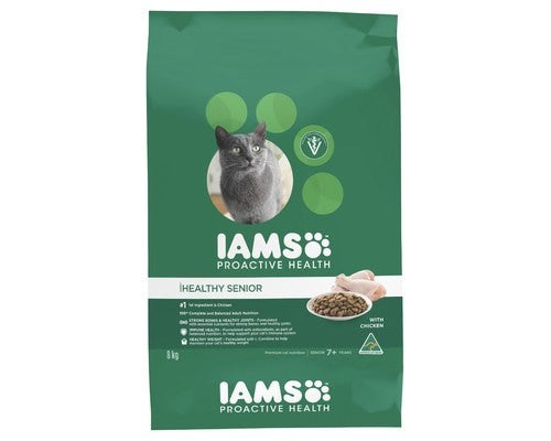 Iams dry cat food Healthy Senior 8kg