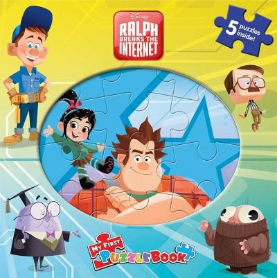 Puzzle Books - Wreck It Ralph