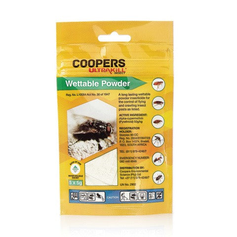 Coopers Wettable Powder