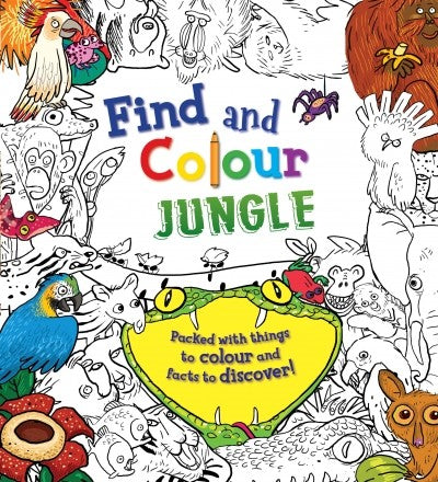 Find & Colour: Jungle