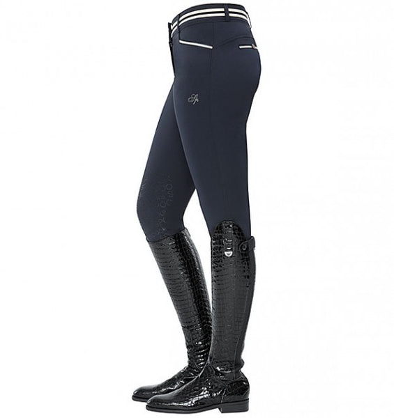 Spooks Ina Light Knee Grip Breeches Navy
