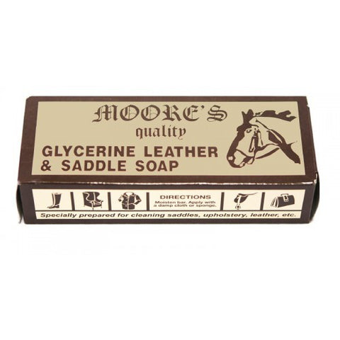 Moores Glycerine Saddle Soap Bar