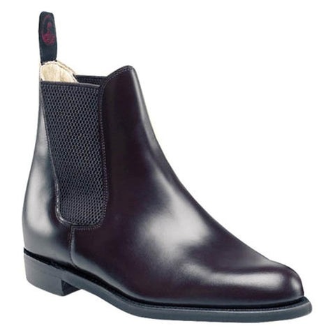 Black Regent Junior Steed Jodphur Boot