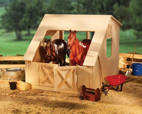 Breyer Wood Stable