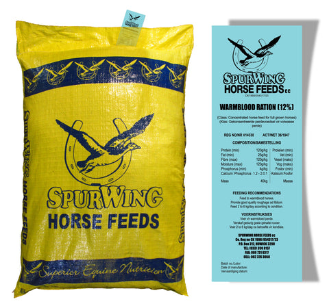Spurwing 12% Warmblood Meal