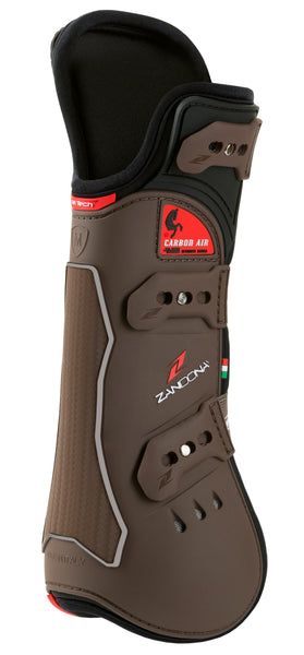 Zandona Carbon Air Extra Protection Tendon Boots Brown