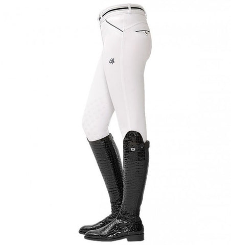 Spooks Fiona Knee Grip Breeches White