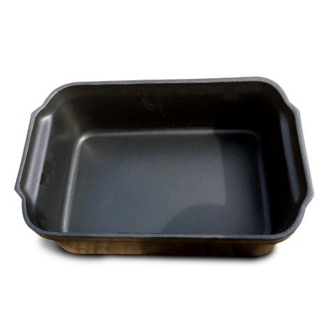 Bin Black Square Small Plastic