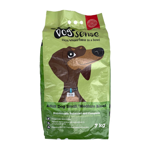 Dogsense Small/Medium Adult Dog food