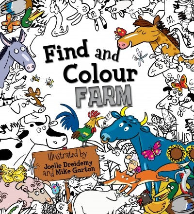 Find & Colour: Farm
