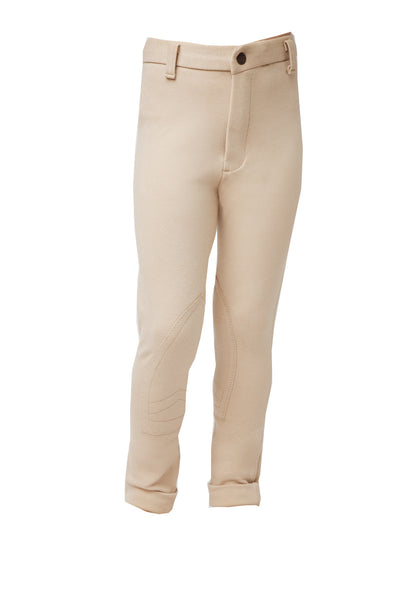 Canary Kids Knitted Classic Breeches Horseware