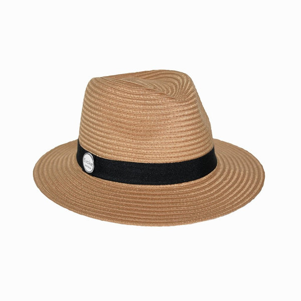 Evoke Reef Panamate Shallow Crown Hat