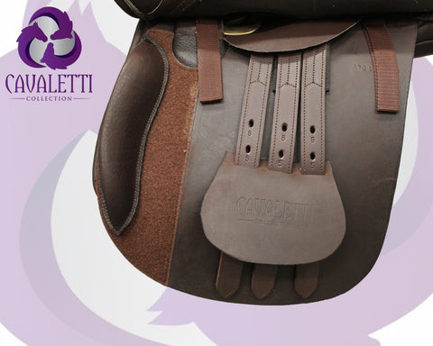 18  Black GP Cavaletti Collection Saddle
