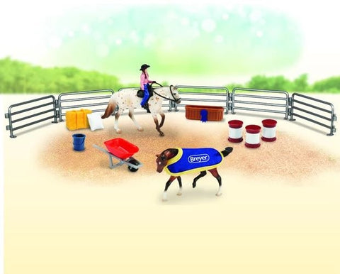 Breyer Stable mates Western Play Set
