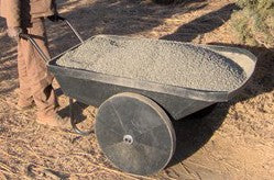 Wheelbarrow -Stable Black