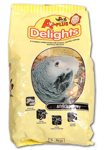 Delights- African Gray 1Kg