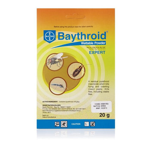 Baythroid Wettable Powder