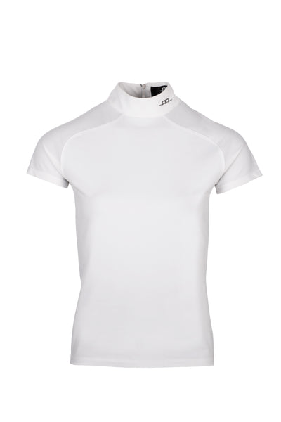 Horseware Milena Competition Top with Back Zip White