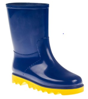 Gumboots Child Blue Size 9