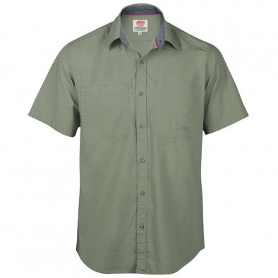 Jonsson Stretch S/Sleeve Shirt Fern