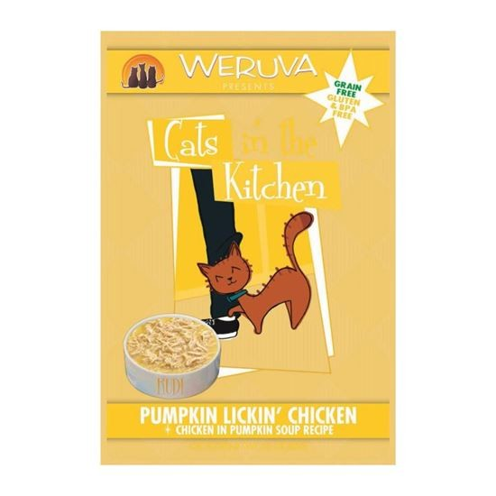 Weruva Pumkin Lickin Chicken 85G (Yellow)