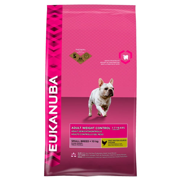 Eukanuba Weight Control Small to Medium Adult 3Kg