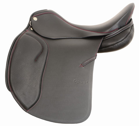 "17.5"" Black Opus Sommer Dressage Saddle"
