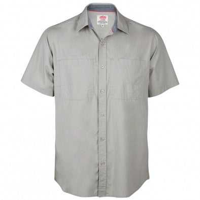 Jonsson StreTch S/Sleeve Shirt Pebble