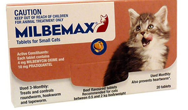 Milbemax Kitten/Sml Cat Each