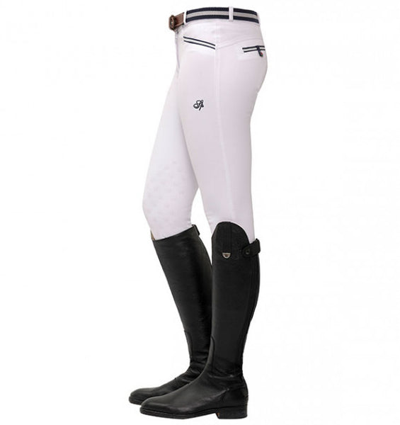Spooks Lucy Knee Grip Breeches White