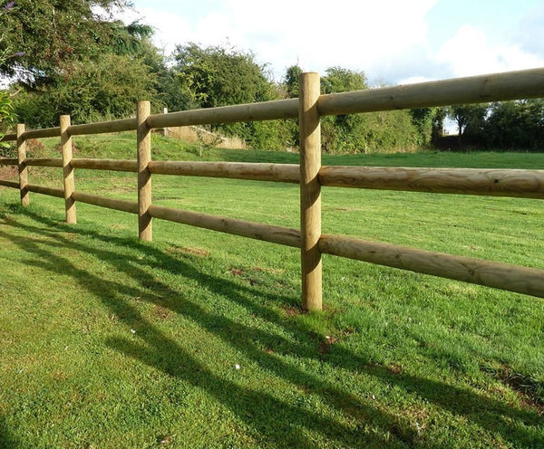 Fence Pole 1.8M 150Mm Corner 2 Hole