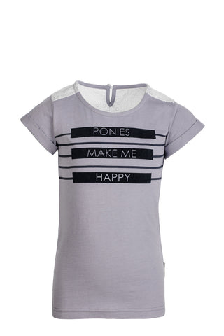 Horseware Girls Novelty Tee Lavender