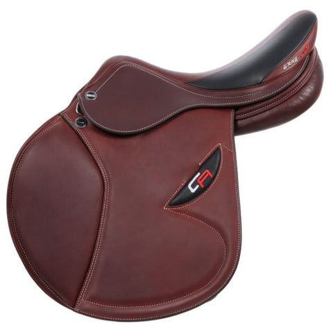 17  Cacao Double Leather Christian Ahlmann CA Erreplus Saddle