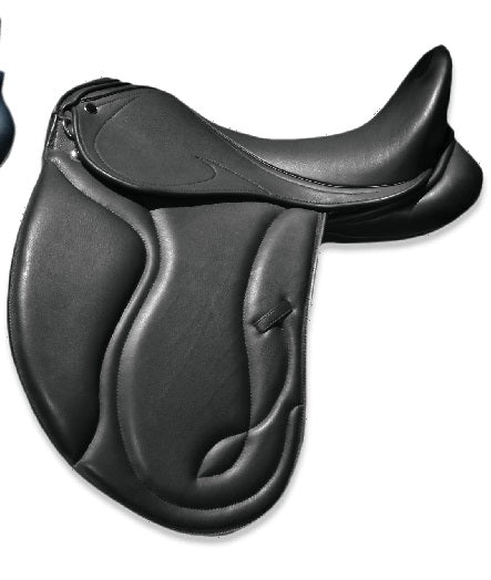 17  Black XMD1-S Argo Dressage Saddle