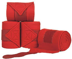 Red Stable Bandage