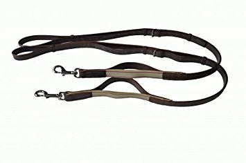 Black Side Reins Leather