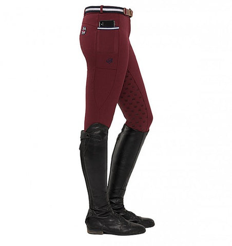 Spooks Leena Full Grip Breeches Bordeaux