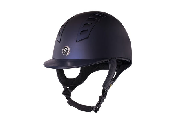 Back On Track EQ3 Smooth Blue Helmet