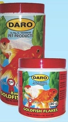 Gold Fish Flakes (Daro) 80G