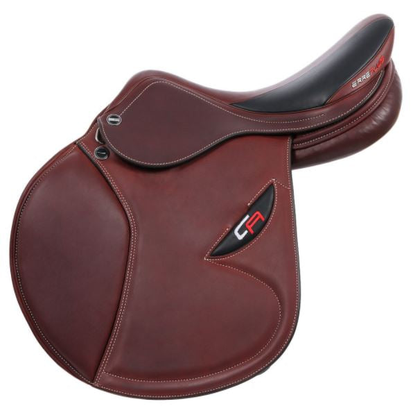 17  Cacao Double Leather Christian Ahlmann CA SL Erreplus Saddle