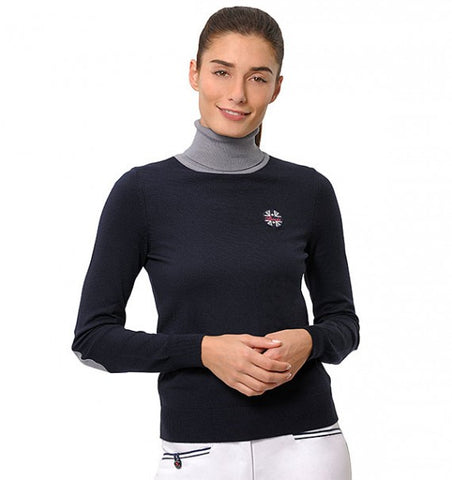 Spooks Mila Turtleneck Navy