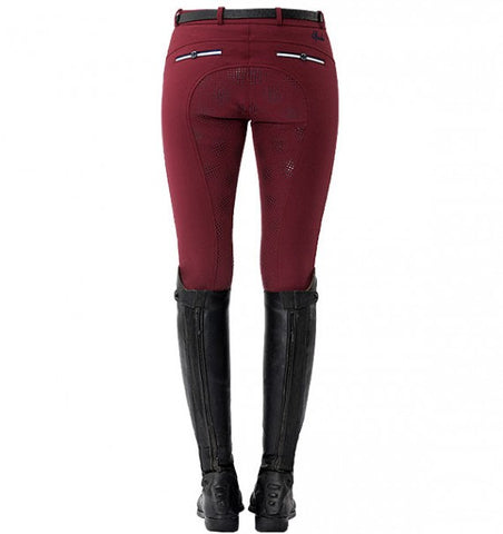 Spooks Ricarda Full Grip Breeches Bordeaux