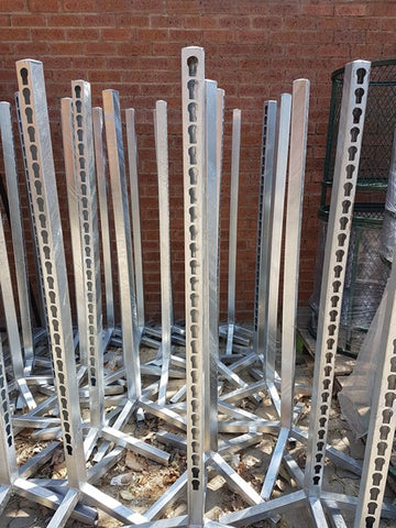 Jump Uprights 1.5M Galvanised Each