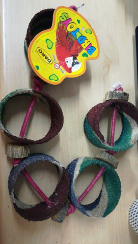 Sand Ring Bird Toy Med