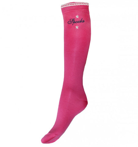 Ladies Pink Chantal Spooks Socks