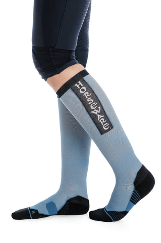 Horseware Ladies Technical Sports Socks Blue Heaven