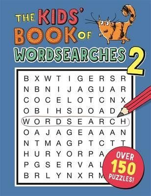 Kids Book Of Wordsearches 2