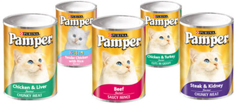 Pampers Tins Steak Mince 385g