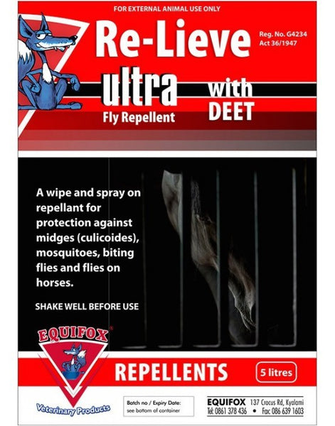 Relieve Ultra flyspray 1L (EQUIFOX)